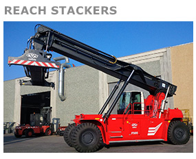 Empilhadeiras Reach Stackers CVS Ferrari
